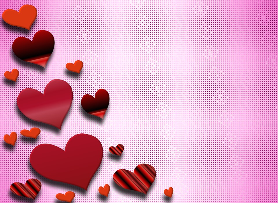 Heart Background Wallpaper February Love