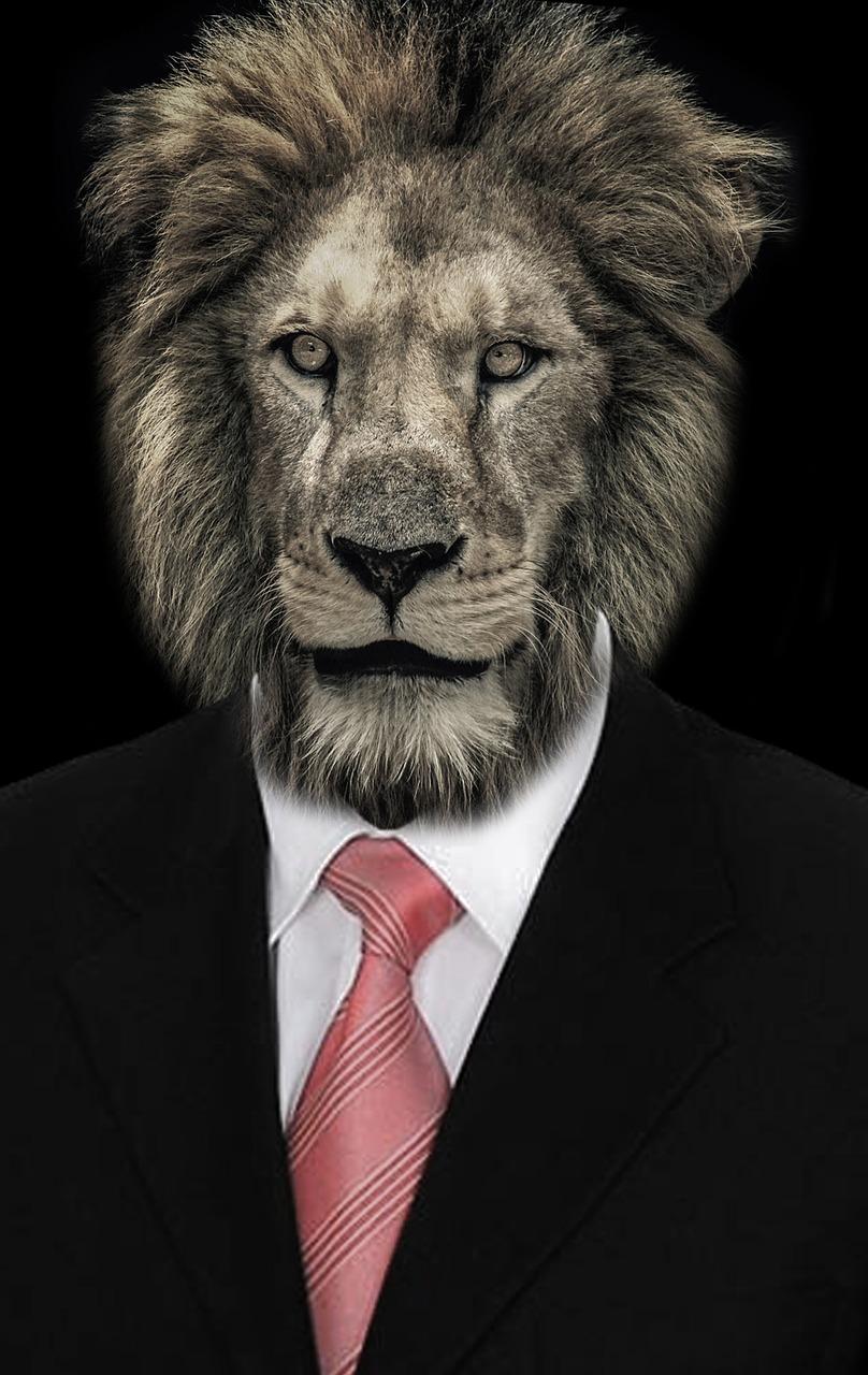 мансардные картинки человека с головой льва паре затравочных картинок