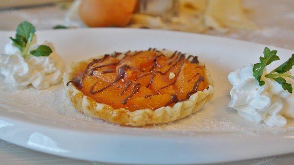 Tarte, Abricot, Gâteau Abricot, Dessert