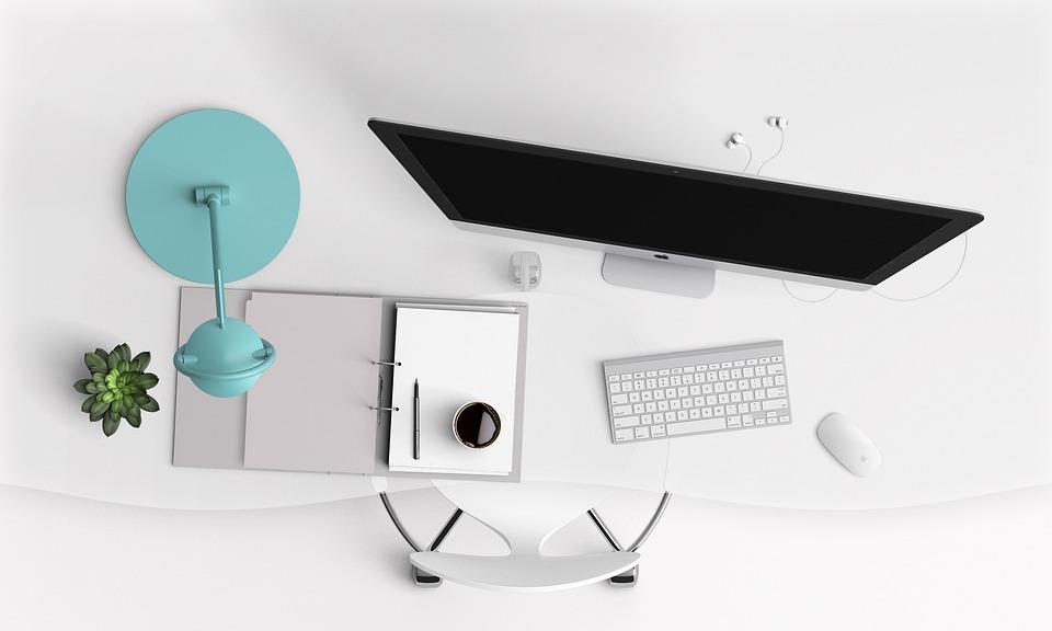 Bureau ordinateur modernes · photo gratuite sur pixabay