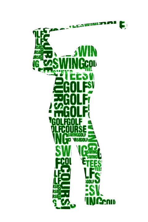 Free Illustration Golf Sport Silhouette Cloud Free
