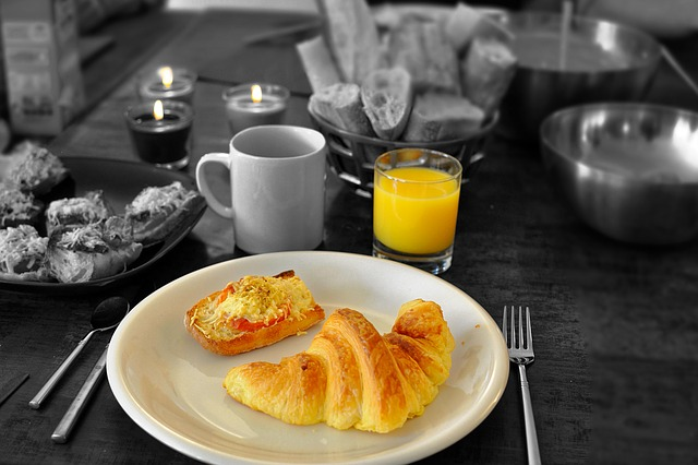 Free Photo Continental Breakfast Croissant Free Image