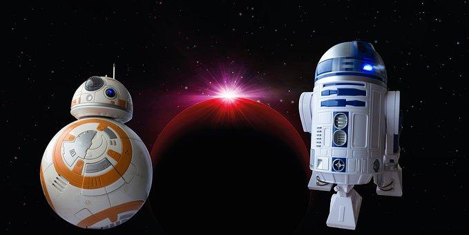 Disney, Bb8-Droid, Droid, R2D2, Robot