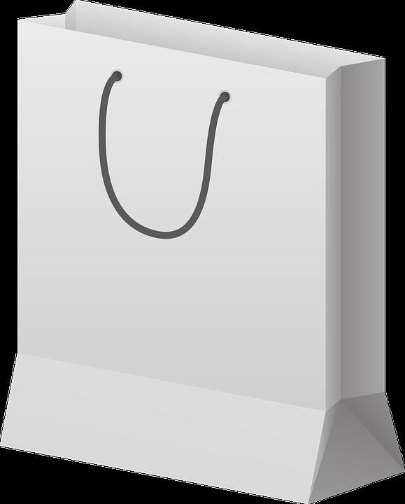image vectorielle gratuite sac de papier sac shopping. Black Bedroom Furniture Sets. Home Design Ideas