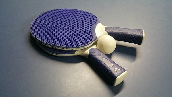 Tennis, Sport, Ping, Pong, Ball, Racket