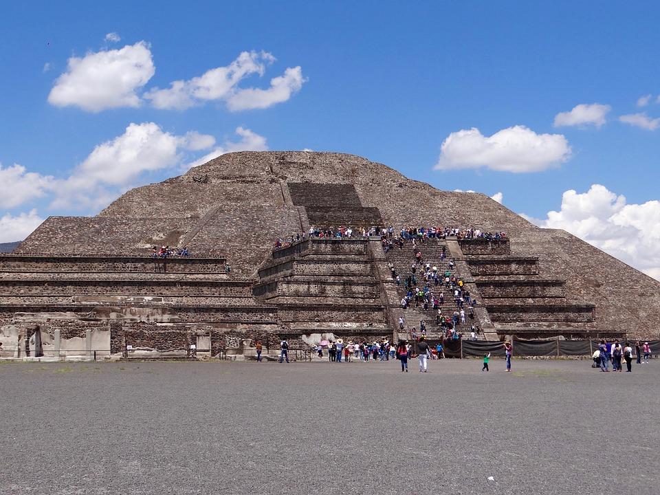 Resultado de imagen de Pirámides de Teotihuacán