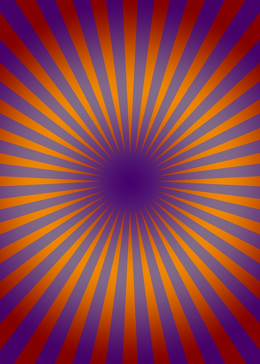 free illustration  retro  circle  lines  rays  orange - free image on pixabay
