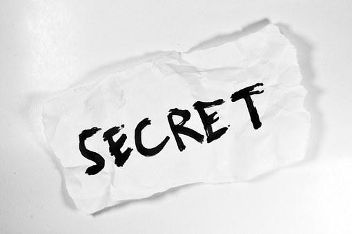 Secret, Hidden, Message