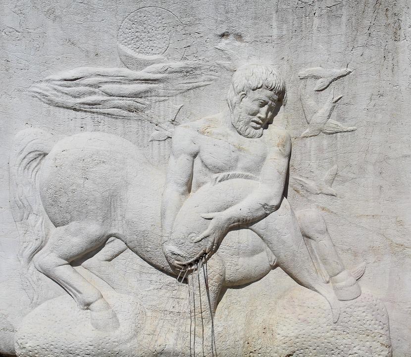 Centauro, Mitología, Escultura, Arte, Monumento, Mármol