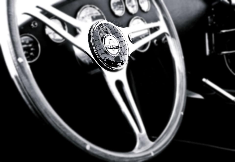 Vintage Car Steering Wheel · Free photo on Pixabay