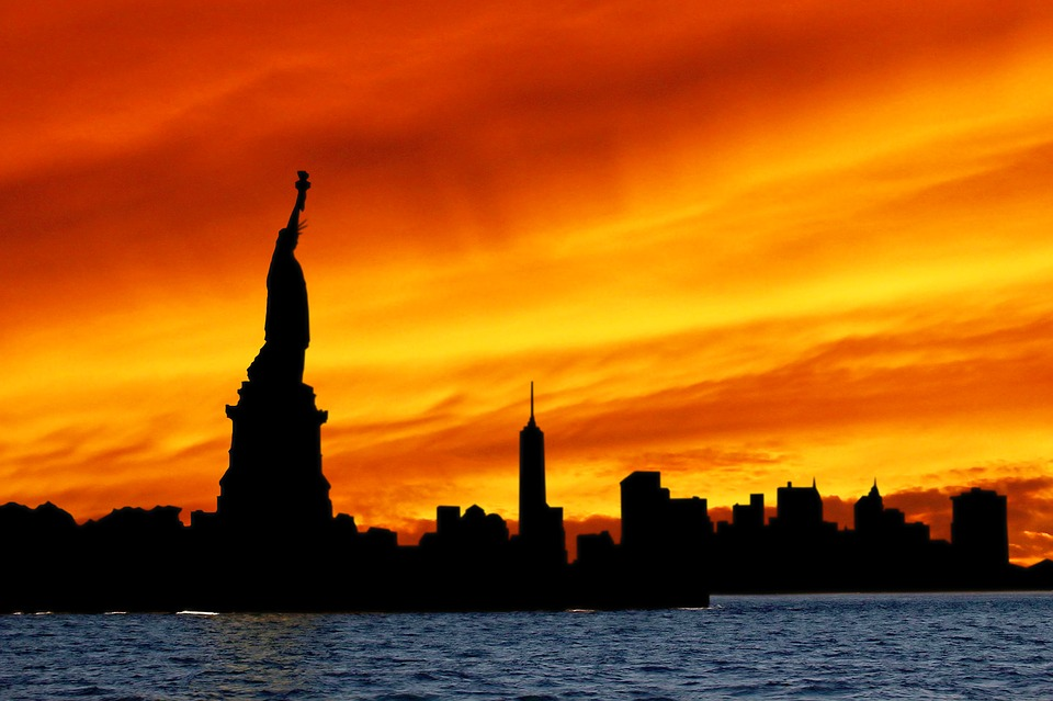 Free Photo Statue Of Liberty Silhouette Free Image On