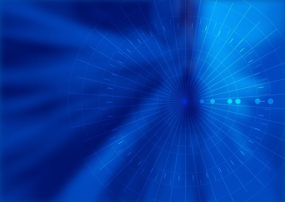 light blue technology background