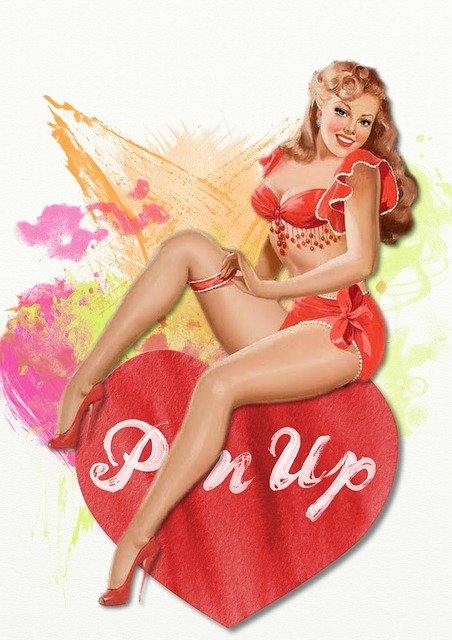 Retro Valentine Pin Up 183 Free Image On Pixabay