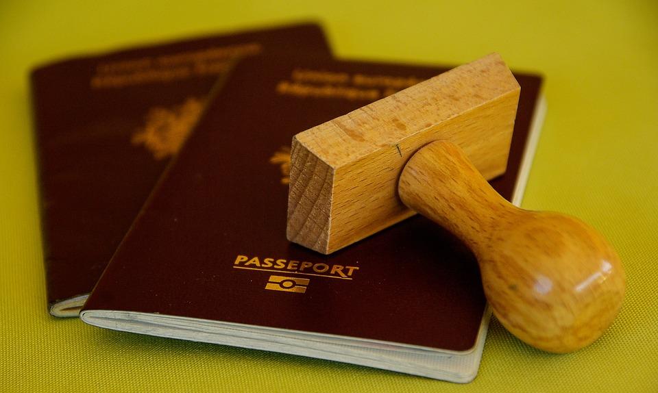 Tampón De, Pasaporte, Viajes, Límite, Aduana