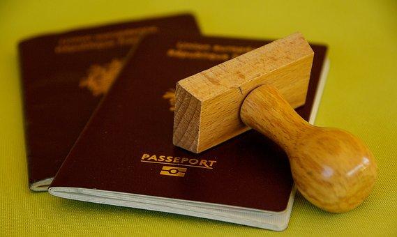バッファー, パスポート, 旅行, 境界, 税関