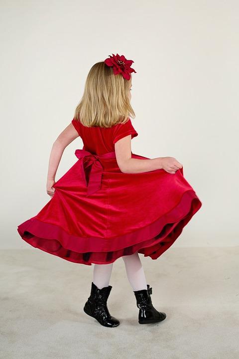 Kleines Mädchen Rotes Kleid · Kostenloses Foto auf Pixabay