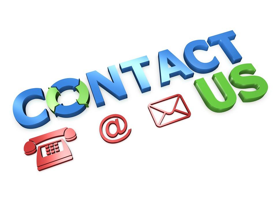 お問い合わせ, 接続, コンピュータ, 電子メール, シンボル, 青, 赤, 緑, 技術, サポート, 情報