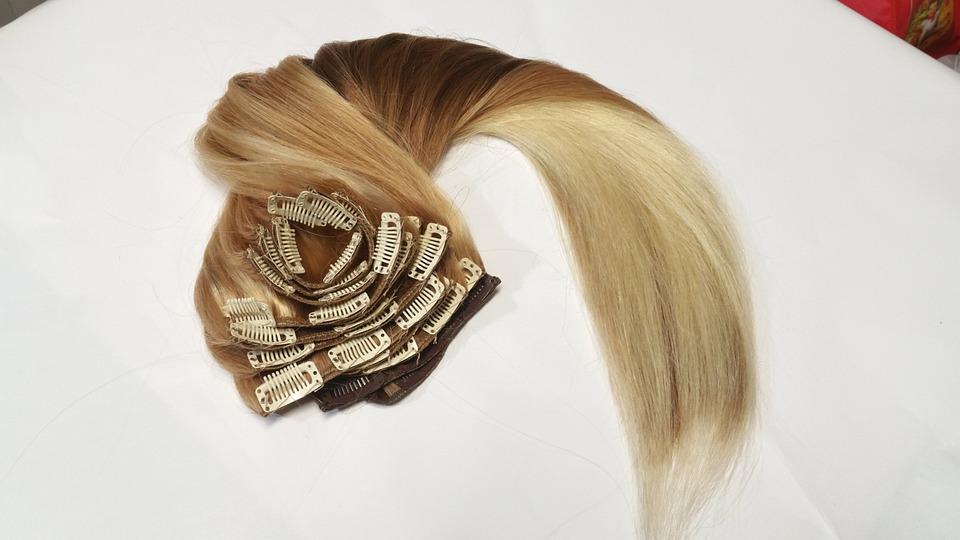 Clip Extension Fashion Hair Free Photo On Pixabay