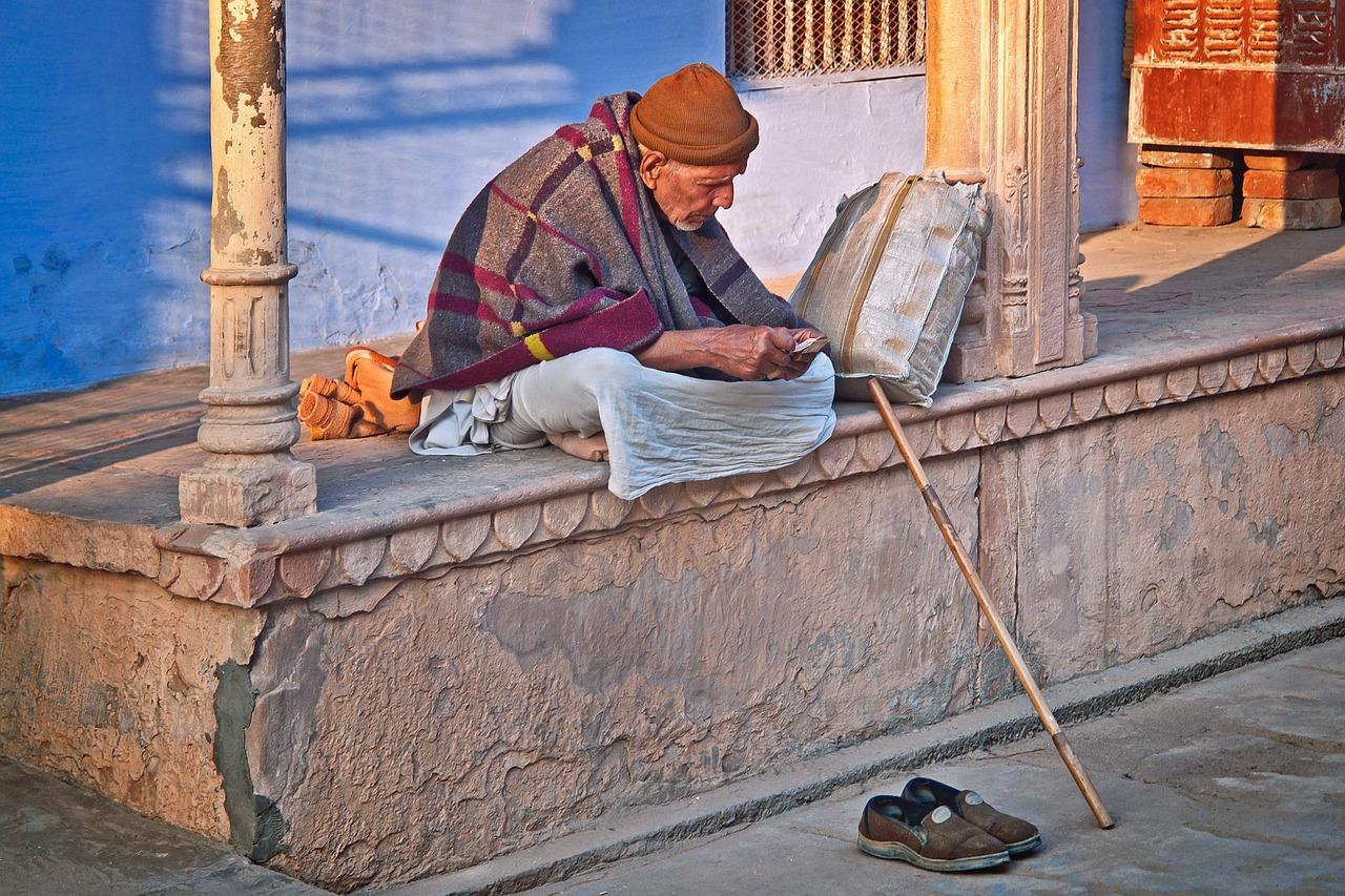 Old Man India Sadhu - Free photo on Pixabay