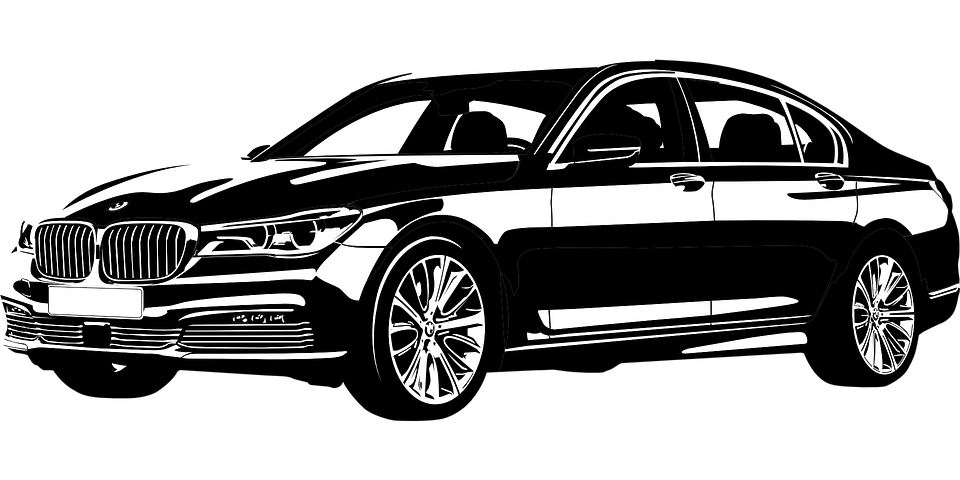 Free Vector Graphic Bmw Seventh Series New Vip Car