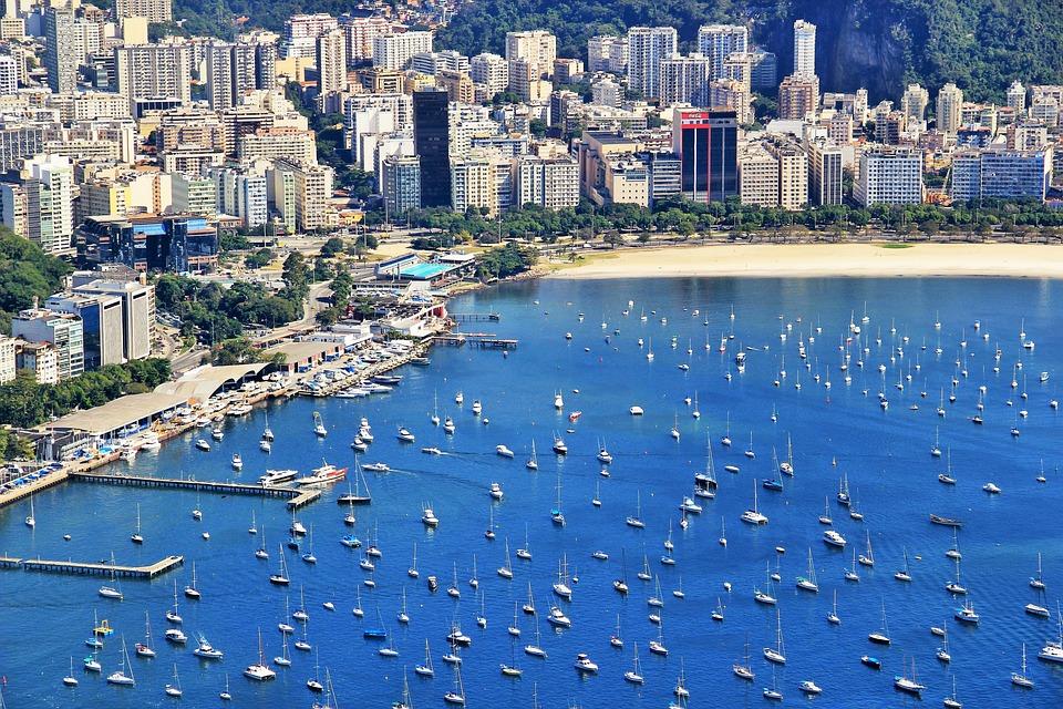Rio De Janeiro Blick Vom Zuckerhut Kostenloses Foto Auf Pixabay