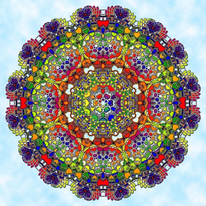 Mandala Pattern Ornaments Free