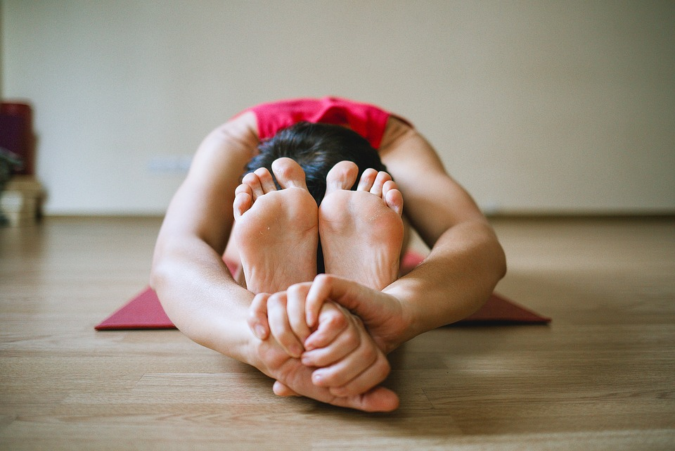 Yoga, Gambe, Ragazza, Sport