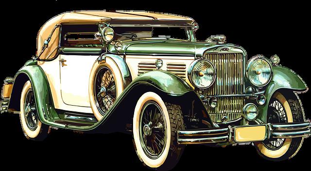 Old Car Vintage Transport 183 Free Vector Graphic On Pixabay