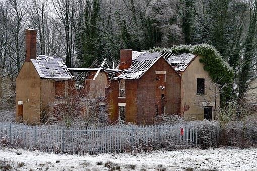 House, Derelict, Abandoned, Old, Home