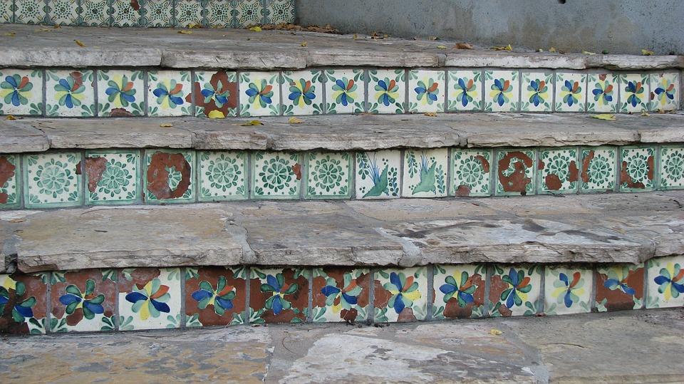 Spanish, Tiles, River Walk, San Antonio