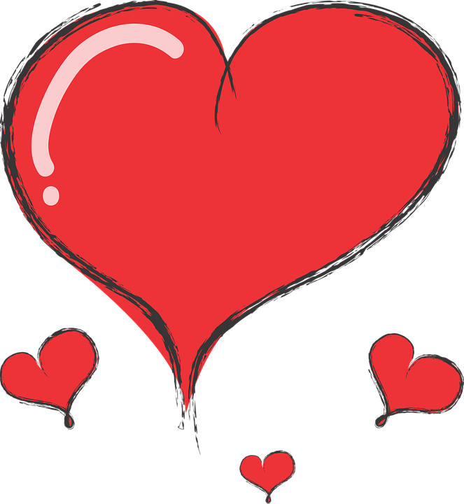 hart cute heart free vector graphic on pixabay