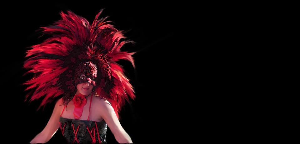 Faces new orleans mardi gras masks