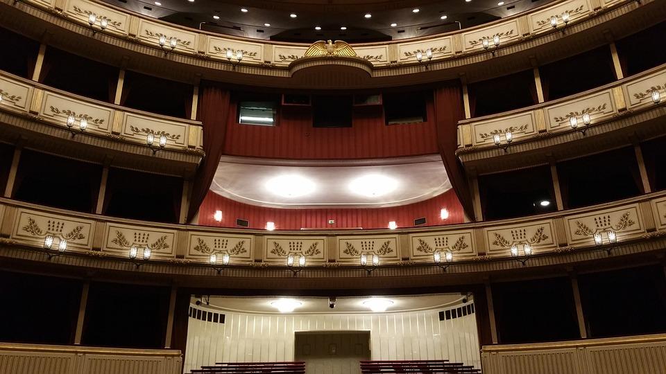 Vienna, Opery, Dom, Austria, Wien, Teatr, Wiedeń Opera