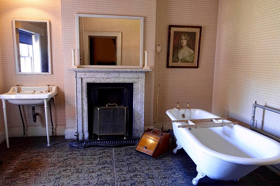 Bathroom Estate Furnishings Elegant Decor Design