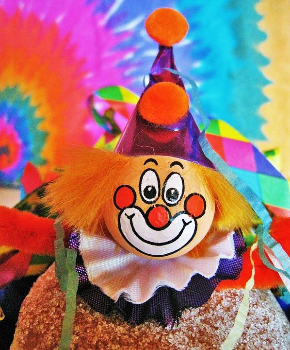 Karneval Clown Kunterbunt Kostenloses Foto Auf Pixabay