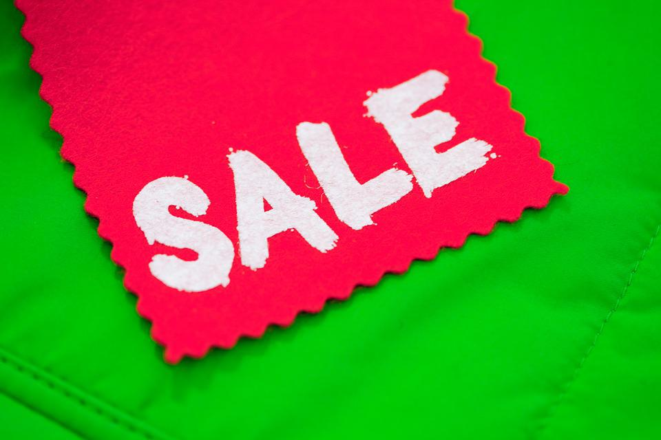 Sale, Shopping