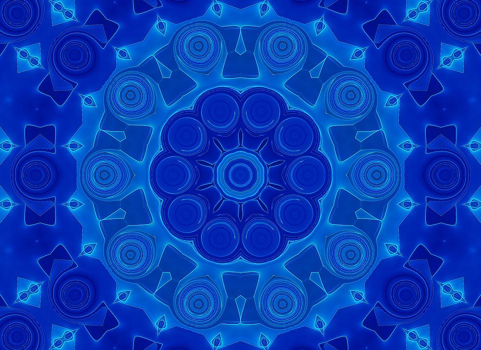 Free illustration: Mystical, Pattern, Form, Shiny - Free Image on ...