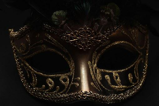 Masked mystery bbw