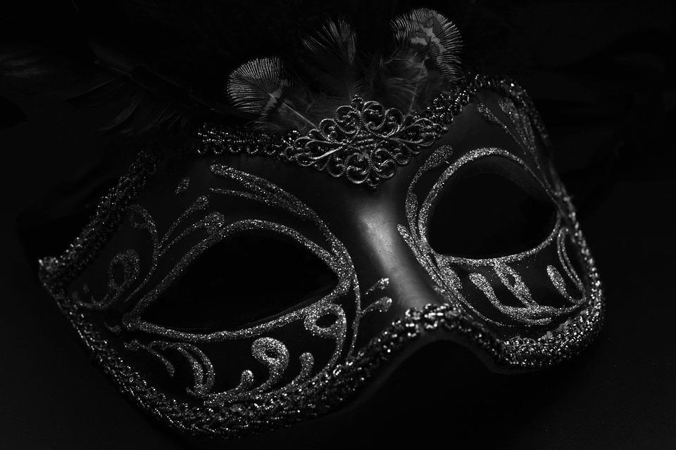 Nature Face Black Mask