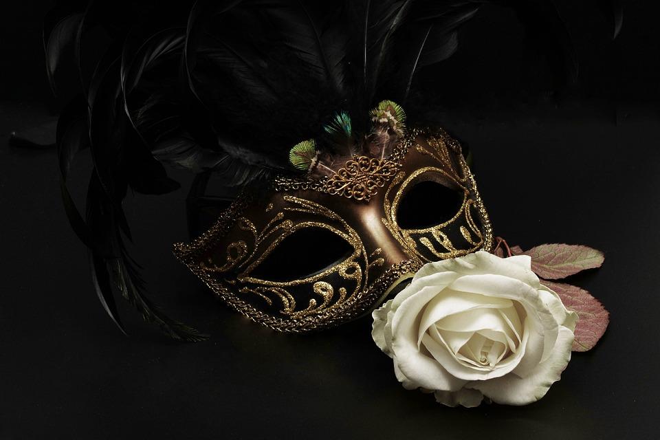 Máscara, Carnaval, Venecia, Misteriosa, Cerrar, Romance