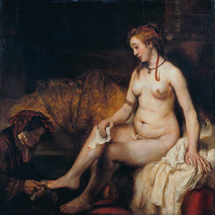 Bathsheba Naked