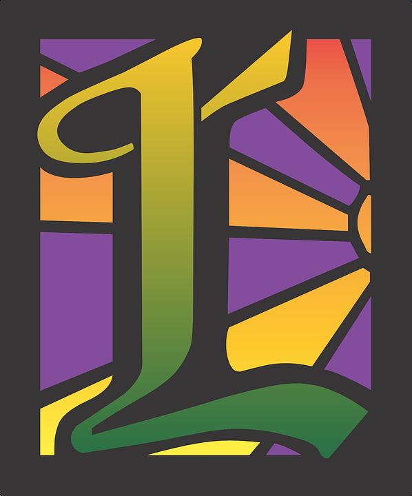 L Letter Simple Alphabet Design Font