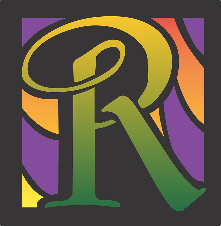 R Letter Alphabet Design Font Text Abc
