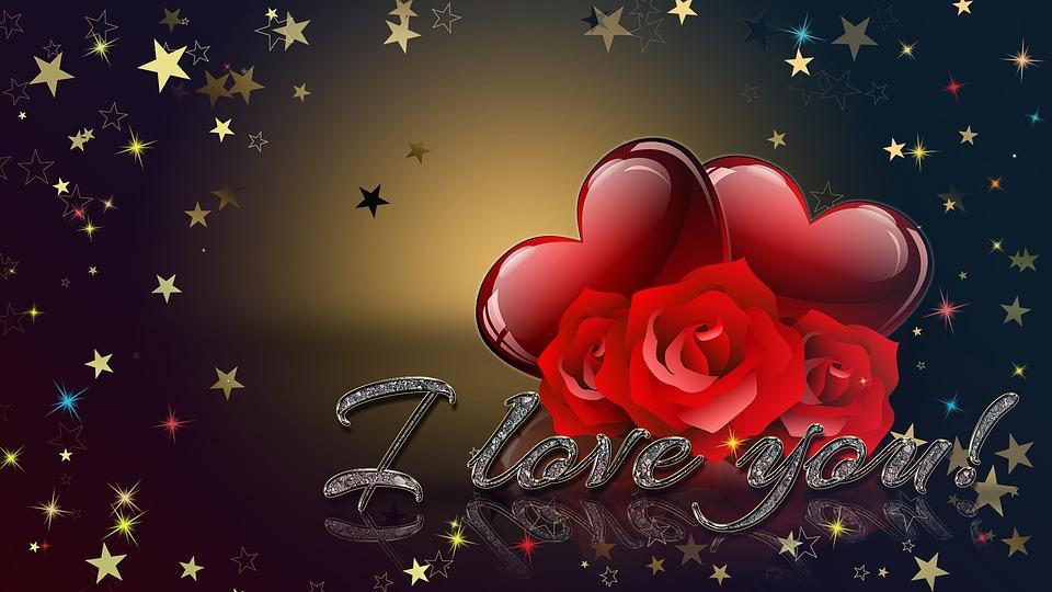 Valentines Holiday Wallpaper Black Heart