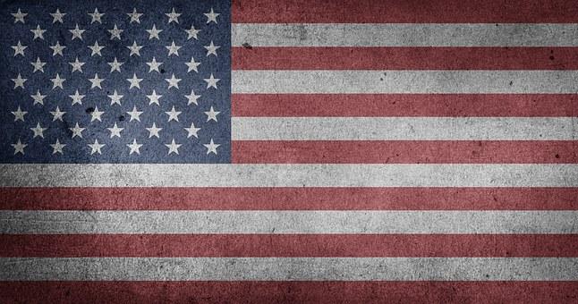 Amerika, Vereinigte Staaten, Usa, Flagge