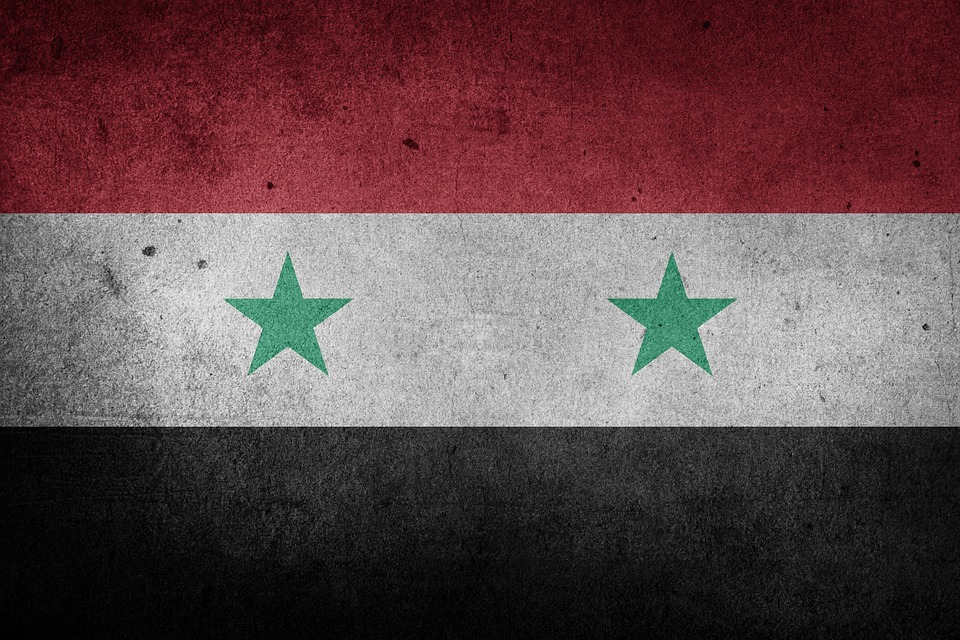 Free Illustration Syria National Flag Middle East Free Image - Syria flag