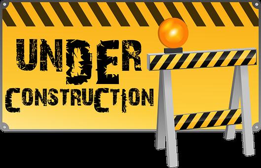 Maintenance Under Construction Web Site We
