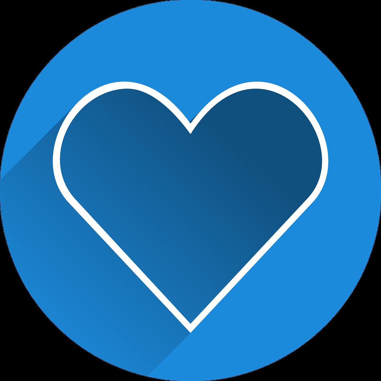 Картинки в виде сердечка лайка