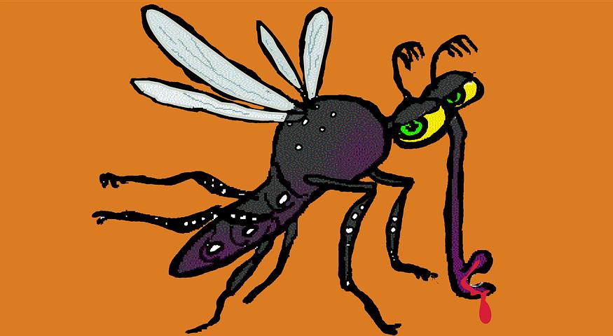 Открытки открытки, картинки анимашки комар