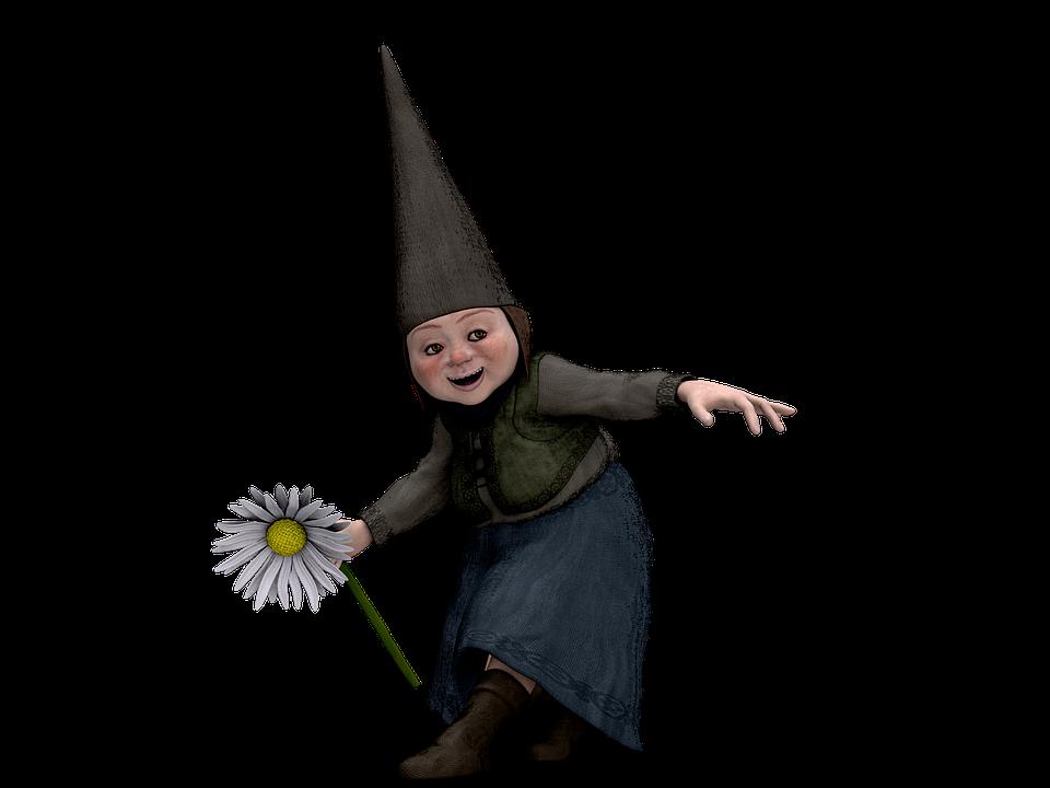 Grandma, Woman, Flower, Funny Oma, Dancing, Hat